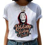 Money Heist La Casa De Papel Bella Ciao T-Shirt - Boom Boom Ciao shirt - TV Salvador Dali Mask Retro Gift