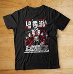 Money Heist shirt, La Casa de Papel Shirt, Dali Mask Shirt, Money Heist Mask, Tokyo, Berlin Shirt, Bella Ciao Shirt