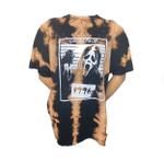 Scream Ghostface Killer Horror Movies Bleached Shirt