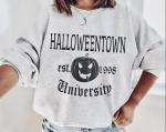 Halloweentown University Crewneck Sweatshirt, Funny Halloween Sweatshirt