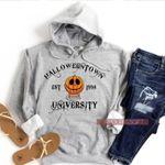 Vintage Halloween Sweatshirt, Funny Fall Hoodie,Cute Fall Halloweentown