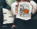 Halloweentown Crewneck Sweatshirt. Halloweentown Sweatshirt, Pumpkin Sweatshirt