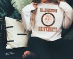 Halloweentown University Sweatshirt. Halloweentown University Halloween Sweatshirt