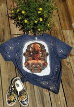 Trick R Treat Shirt Distressed Bleached Shirt