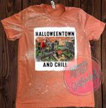 Halloweentown University Tie Dye Shirt, Halloweentown Shirt, Vintage Halloween, Funny Fall Shirt, School Halloween