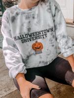 Halloweentown University Tie Dye Sweatshirt