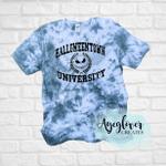 Halloweentown University Tie Dyed Tee Shirt