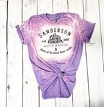 Ho.cus Po.cus Sanderson Witch Museum Bleached Shirt