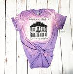 San.der.son Sisters Boarding School Bleached Light purple Shirt