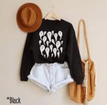 Cute Ghost Crewneck, Halloween Shirt, Spooky Sweatshirt, Halloween Sweatshirt