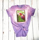 Hocus Pocus Vintage Sanderson Sisters Poster Bleached Shirt