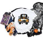 Halloween Truck Shirt, Halloween Gnomes shirt,Halloween Party,Halloween T-shirt