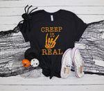 Creep It Real Shirt, Halloween Funny Shirt, Family Matching Shirts