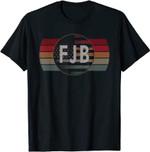 Pro America USA Football US Flag F.J.B. FJB T-Shirt