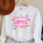 Love on Tour 2021 Harry-Styles Sweatshirt, Groovy Love on Tour, Best Gift Sweatshirt Ever