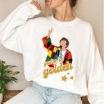 Harry Styles Art, Halloween Sweatshirt,Love on Tour,One Direction ,Golden Lyrics