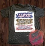 Alexa Change The President Bleached Shirt   Biden   Trump   Conservative   Republican   Patriotism   Patriotic