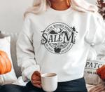 Local Witches Union Salem sweatshirt, Witch Sweater, Halloween Funny Sweatshirt