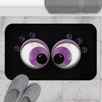 Halloween Decor, Halloween Doormat, Spooky Eye