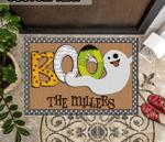 Cute Boo Doormat, Ghost Halloween Doormat, Halloween Decor