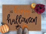 Halloween Pumpkin Doormat, Fall Doormat, Welcome Mat, Funny Doormat, Fall Decor, Halloween Decor, Halloween Gift