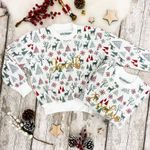 Name Personalised Kid's Christmas Sweater - Children's christmas