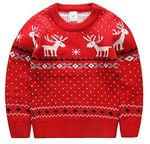 Christmas Kid Ugly Sweater Pullover Outfit Jumper for Christmas Party Photograph Best Gift