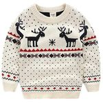 Christmas Kid Ugly Sweater Pullover Outfit Jumper for Christmas Party Photograph Best Gift 02
