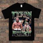 Tyson Fury Gypsy Boxing Tribute British Heavyweight Boxer Unofficial Kids T-Shirt