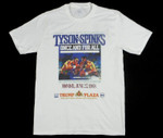 Mike Tyson Vs Michael Spinks fight poster White T-shirt