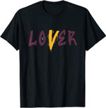 6 Bordeaux Sneaker Match Tees Loser Love Halloween Drip T-Shirt
