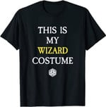 This Is My Wizard Costume Funny RPG Game Dragons T-Shirt
