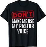 Funny Pastor Art For Men Women Christian Preacher Priest T-Shirt