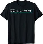 Lewis Hamiltons 44 T-Shirt