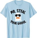 Mr. Steal Your Ghoul Ghost Costume Boys Halloween T-Shirt