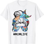 Vintage Blip-pis Mom Funny L.i.f.e For Men Woman T-Shirt