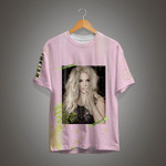 """FREE BRITNEY SPEARS - """"Overprotected/Piece of Me"""" All over print T-shirt - Pink. Inspired by Kanye, Yeezy, Off White, Raf Simmons, Hypebeast"""