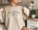 Rose Apothecary, Schitt Creek, Rosebud Sweatshirt, Moira Rose Sweatshirt, Schitt Creek Gift, David Rose Sweatshirt