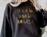 Fa La La Sweatshirt, Funny Christmas Sweatshirt, Cute Xmas Gift, Christmas 2021