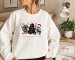 Star War Christmas Sweatshirt, Cute Star War, Darth Vader Sweater, Storm Trooper Sweatshirt