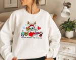 Baby Yo.da Snack Christmas Sweatshirt, Dis.ney Snacks Shirt, Dis.ney Baby Yo.da Sweater
