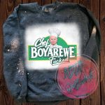 Chef Boyarewe Fucked Bleached Sweatshirt   Chef Boyardee   Biden Sucks   Biden   Political Sweatshirt