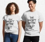 White lie Party (Size doesnt matter) Classic T-Shirt