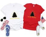 Meowy Christmas Shirt,Christmas Shirt,Cat lover Shirt,Animal Lover Shirt,Christmas Gift, Meowy Christmas Shirt