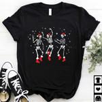 S.keleton Dancing Christmas Shirt, Merry Christmas Shirt, Family Christmas Shirt, 2021 Christmas Shirt