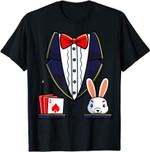 Magician Costume Halloween Magic Show T-Shirt