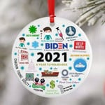 2021 Commemorative Christmas Ornament Year in Review