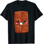 Kawaii Halloween Group Costume Party S'mores Chocolate Bar T-Shirt