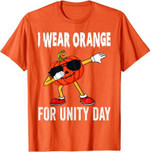 Unity Day Shirt Orange Kids Unity Day Pumpkin Toddler Boys T-Shirt