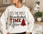 It's The Most Wonderful Time Of The Year Sweatshirt, Christmas Crewneck, Christmas Clothing